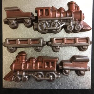 Dark Chocolate Train set