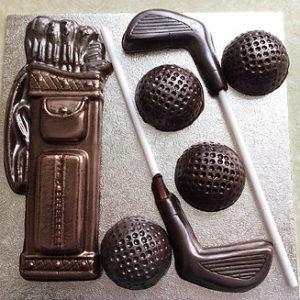 Dark Chocolate Golfing Kit