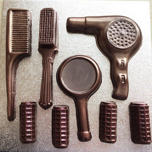 Dark Chocolate Hair Dresser Kit