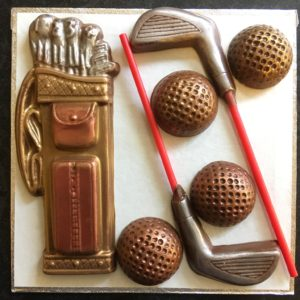Golf set Milk Chocolate