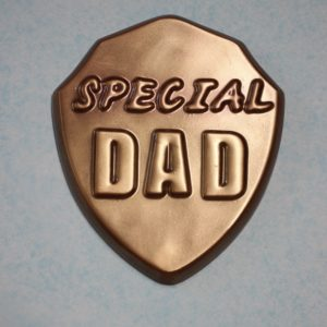 Special Dad Shield Milk Chocolate