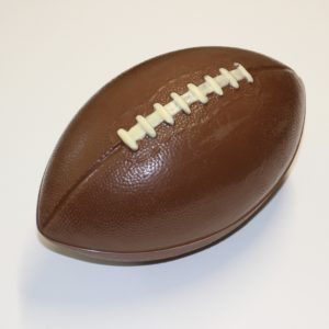 Rugby Ball, American Football Dark Chocolate
