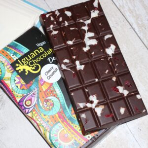 Coconut & Cherry in Dark Chocolate