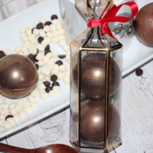 Hot Chocolate Bombs – Dark Chocolate (Vegan friendly)