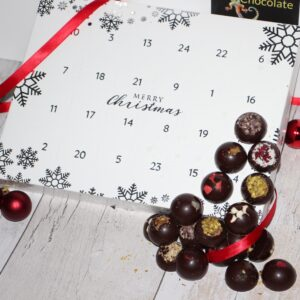 PRE – ORDER  Dark Chocolate Christmas Advent Calendar – Vegan Friendly